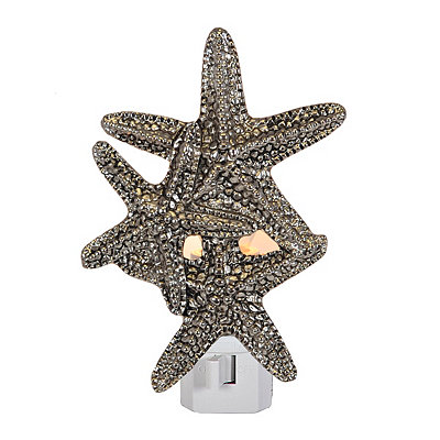 Pewter Starfish Night Light