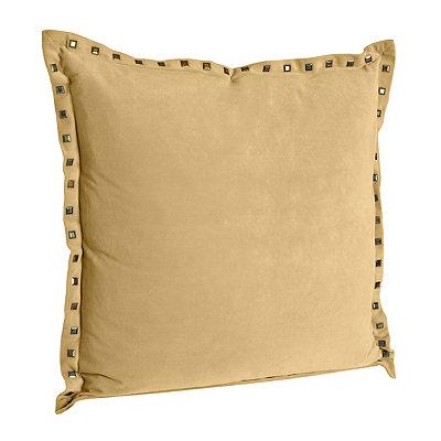Payton Yellow Velvet Pillow