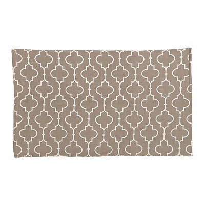 Tan Casablanca Scatter Rug