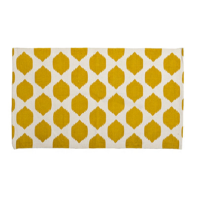 Yellow Isabella Scatter Rug