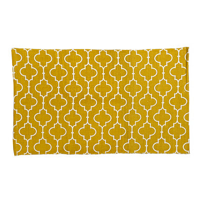 Yellow Casablanca Scatter Rug