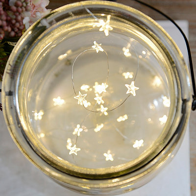 Clear Star String Lights