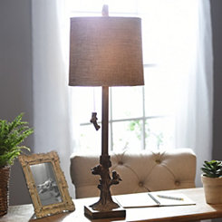 Birds and Branches Buffet Lamp