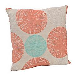 Spice and Aqua Calypso Pillow