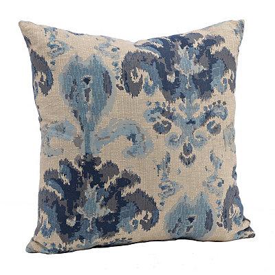 Ikat Isfahan Indigo Pillow