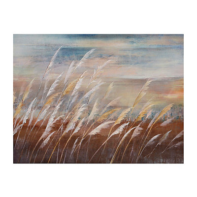 Beach Grass Canvas Art Print