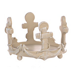 Anchor Jar Candle Holder