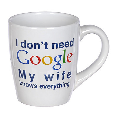 My Wife Knows Everything Mug