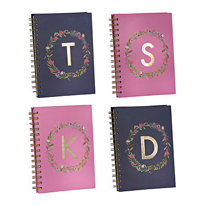 Laurel Monogram Notebook