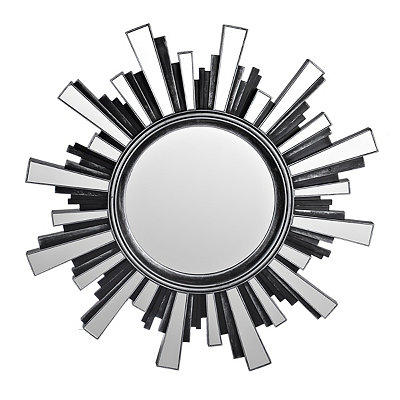 Pewter Starburst Mirror