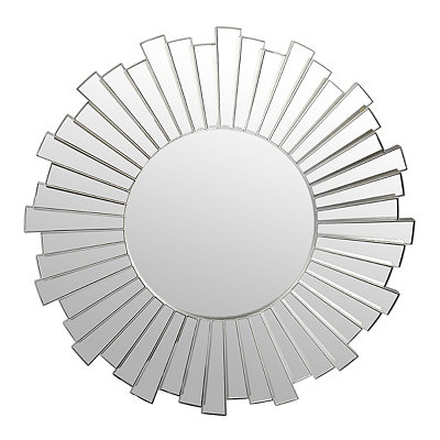 Wavy Mirrored Burst Mirror