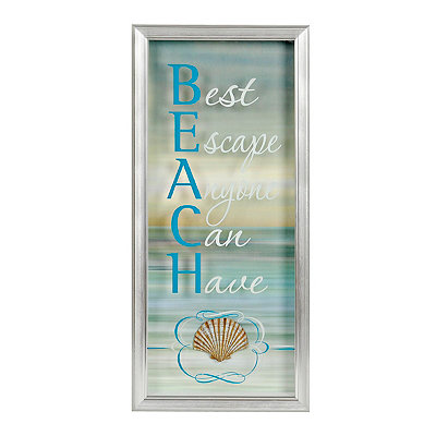 Beach Best Escape Shadowbox