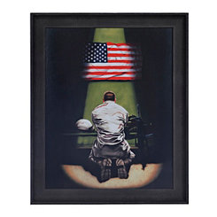 Armed Service Prayer Framed Art Print