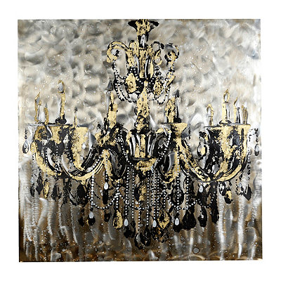 Grand Chandelier Canvas Art