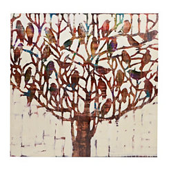 Luxuriant Tree Canvas Art Print