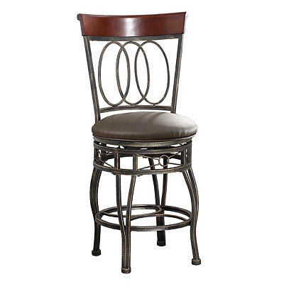 Olivia Metal Bar Stool, 40 in.