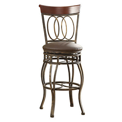 Olivia Metal Bar Stool, 45.5 in.