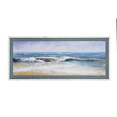 Surf Spray Framed Art Print