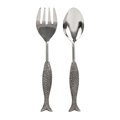Global Market Fish 2-pc. Serving Set