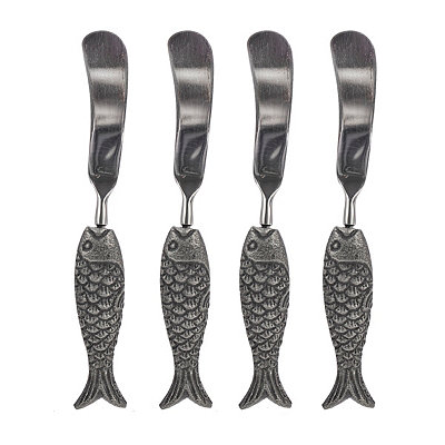 Global Market Fish 4-pc. Spreader Set