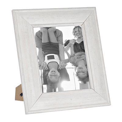 Natural Charm Cream Wooden Picture Frame, 8x10