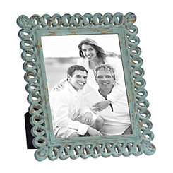 Natural Charm Turquoise Carved Picture Frame, 8x10