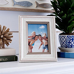 Natural Charm Ivory & Gold Picture Frame, 5x7