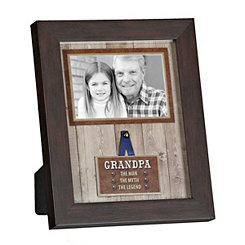 Grandpa the Legend Picture Frame, 4x6