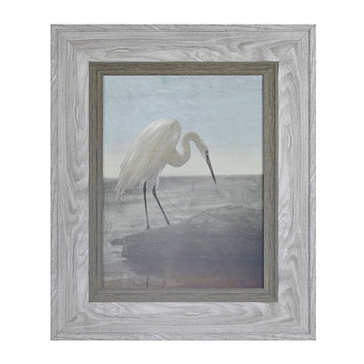 Blue Heron Framed Art Print