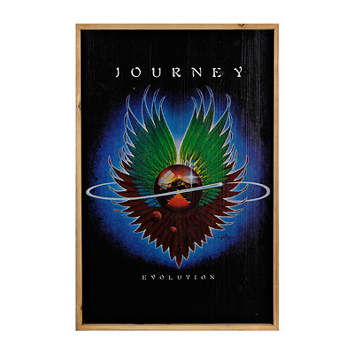Vintage Journey Framed Art Print