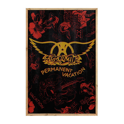 Vintage Aerosmith Framed Art Print