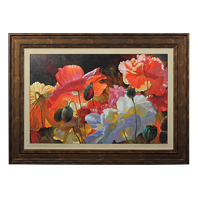 Summer Radiance Framed Art Print