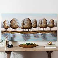 Country Time Blues Canvas Art Print
