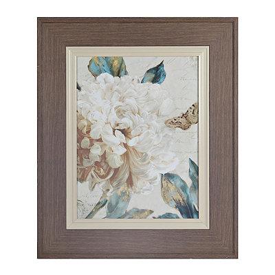 Rustic Elegance I Framed Art Print