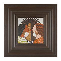 Ethnic Women Framed Art Print