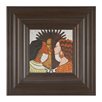 Ethnic Women Framed Art Print