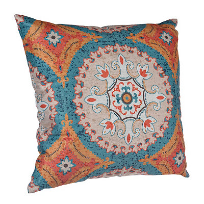 Aqua and Spice Olivia Pillow
