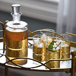 Daphne Gold 5-pc. Whiskey Set