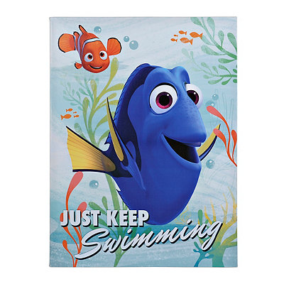 Finding Dory Canvas Art Print
