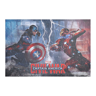 Captain America Civil War Canvas Art Print