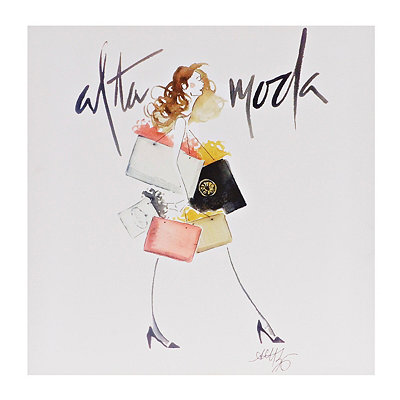 Shopping Spree Alta Moda Canvas Art Print