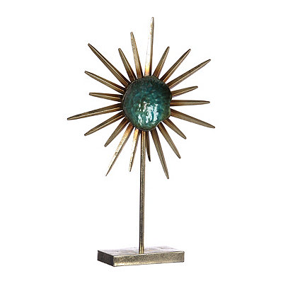 Blue Starburst Finial