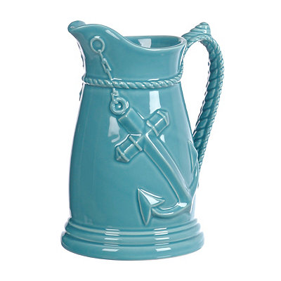Blue Anchor Pitcher