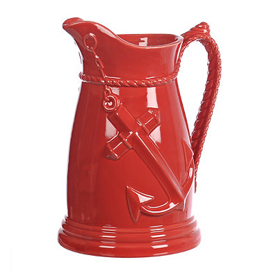 Red Anchor Pitcher