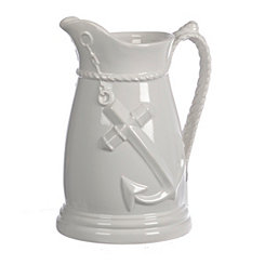 White Anchor Pitcher