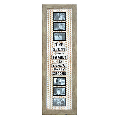 Time Spent with Family 6-Opening Collage Frame