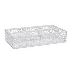 Fiore White Vanity Tray