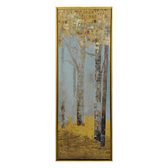 Golden Forest II Framed Art Print