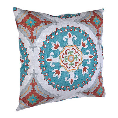 Spice and Teal Olivia Pillow