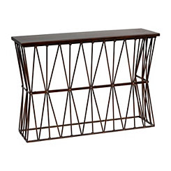 Twisted Ribbon Console Table